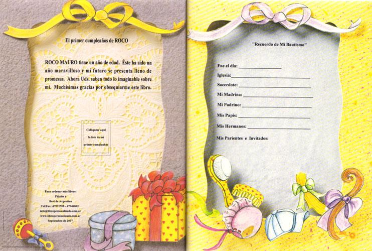 Mi libro de beb - El baul de tu bebe ...